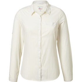 Craghoppers NosiLife Bardo Longsleeve Shirt Dames, sea salt